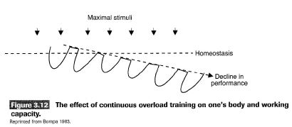 effect of continuous training